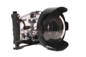 Unterwassergehäuse für DSLR Kamera macht die Landkamera zur Unterwasserkamera